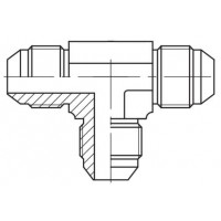 Адаптер трійник зовнішня різьба JIC - JIC, J Т