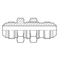 Адаптер під перебірку зовнішня різьба JIC - JIC, J SV