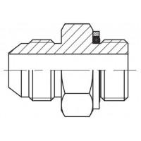 Адаптер прямий зовнішня різьба JIC - BSP, J GE-G
