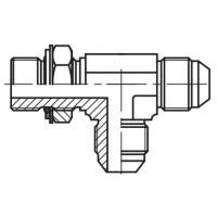 Адаптер трійник регульований зовнішнє різьблення BSP - JIC - JIC, J LE-G