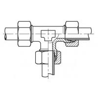 Адаптер тройник (спасатель) соединительный LL - LL, Т LL