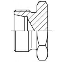Пробка Адаптер ROV-L метрическая CEL