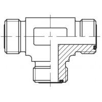 Адаптер трійник зовнішня різьба ORFS - ORFS