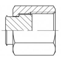 Адаптер пробка (заглушка) внутрішня різьба ORFS