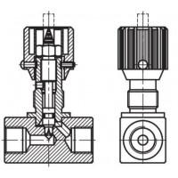 Дросель гідравлічний, внутрішнє різьблення G (BSP)