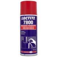 Грунтовка цинковая Loctite 7800 (Локтайт 7800)  – глянцевая, электропроводящая, антикорозионная, спрей, 400 мл