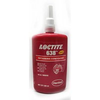 Loctite 638 (Локтайт 638) - продукт для фіксації циліндричних вузлів, валів, шестерень, 250 мл