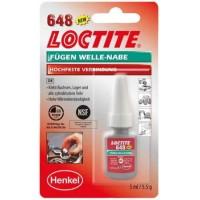 Loctite 648 (Локтайт 648) — вал-втулочный высокотемпературный фиксатор высокой прочности, 5 мл