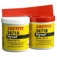 Loctite 3471 шпатлевка со стальным наполнителем, (Локтайт 3471) набор 500 г