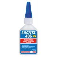 Loctite 406 (Локтайт 406) Супер клей для складних у склеюванні пластиків, гуми (включно з EPDM), пластмаси, 50 г