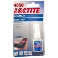 Loctite 4850 Еластичний моментальний клей (Локтайт 4850) - для шкіри, пластмаси, металу, 5 г, до 70 ° С