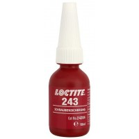 Loctite 243 10 ml фиксатор резьбы средней прочности