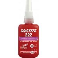 Фиксатор резьбы низкой прочности Loctite 222, до М36, до 150 °C, 50 мл