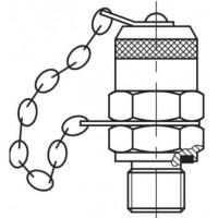 Измерительный адаптер контрольная точка, наружная резьба G BSP M