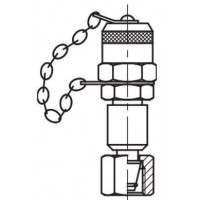 Измерительный адаптер контрольная точка, резьба DKLO метрическая