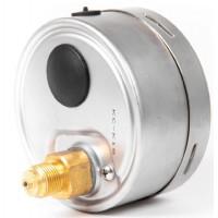 """Манометр, вакуометр гліцериновий Ø100 мм з підключенням ззаду G 3/8 """""""
