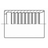 Обжимная втулка под бетонное соединение