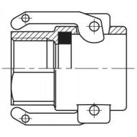 Camlock тип D — стыковочная муфта с внутренней резьбой BSPP БРС Камлок