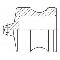 Camlock тип DP - Пробка защитная для муфт БРС Камлок