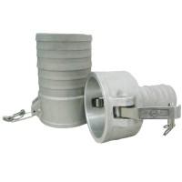 Camlock тип С редукционный — стыковочная муфта с хвостовиком под шланг БРС Камлок