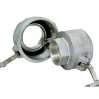 Camlock тип D редукционный — стыковочная муфта с внутренней резьбой BSPP, БРС Камлок