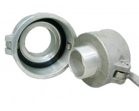 Camlock тип В редукційний — стикувальна муфта з зовнішньою різьбою BSPP, ШРЗ Камлок