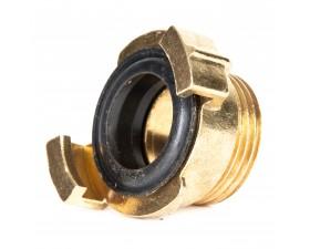 Кулачковая муфта GEKA с наружной резьбой для воды и сжатого воздуха