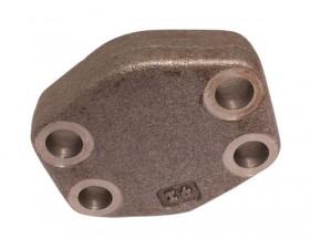 Фланцевая заглушка, пробка SAE J518 Код 62 SAE 6000