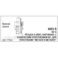 Перехідник CEL x BSP, 6003 S