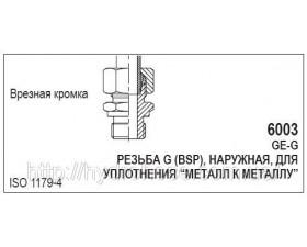 Переходник CEL x BSP, 6003