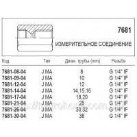 Измерительное соединение, JIC 7681