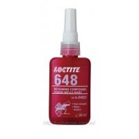 Фиксатор Loctite 648 (Локтайт 648) — вал-втулочный фиксатор высокой прочности, 50 мл
