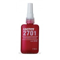 Loctite 2701 (модификация 270) — фиксатор для использования со всеми металлическими резьбами, 50 мл