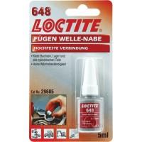 Высокотемпературный Loctite 648 (Локтайт 648) — вал-втулочный фиксатор высокой прочности, 5 мл
