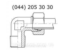 Угловой фитинг 90°, 6174