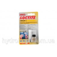 Токопроводящий клей Локтайт 3863 (Loctite 3863 Circuit+), ремонт нитей обогрева заднего стекла, 2 г