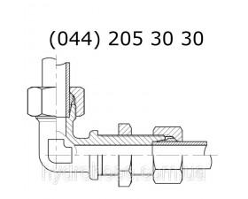 Кутовий фітинг 90°, CEL x CEL, 6046