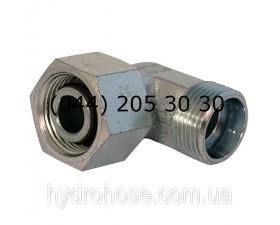 Стояковый угловой фитинг, 90°, DKOL x CEL, 6051
