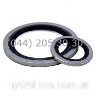 Кільце ущільнююче метал-гума USIT