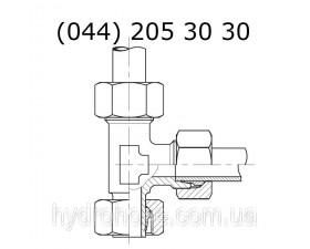 Стояковый напорный тройник, 6070