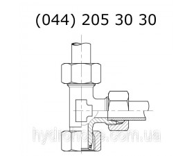 Ответвительный напорный тройник, 6071