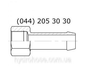 Хвостовик, BSP IF, для двух рукавных хомутов, 5860