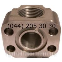 Різьбовий фланець 90°, 5548-02