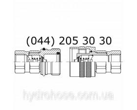 Швидкороз'ємне з'єднання (ШРЗ), різьбове, 5558-80/81
