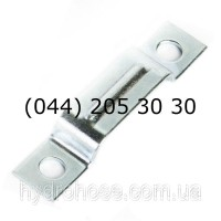 Электроцинкованный трубный хомут для 4-х труб, 5562-84