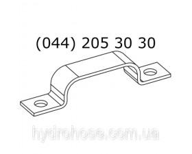 Электроцинкованный трубный хомут для 6-х труб, 5562-86