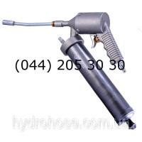 Пневматический шприц для смазкисо стальной трубкой и муфтой