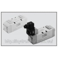 Клапани серія ISO - пневматичне та електричне керування