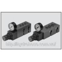 Редукційний клапан з плитою для клапана ISO 5599