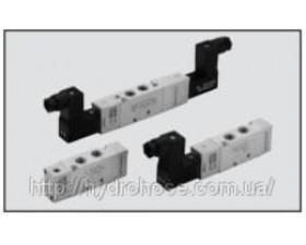 Клапани серія MACH 16 - пневматичне та електричне керування